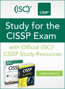 Study for the CISSP Exam with Official (ISC)2 CISSP Study Resources. Learn More.